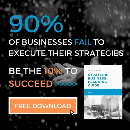 Strategic Business Planning Guide | Free eBook | THAT Agency