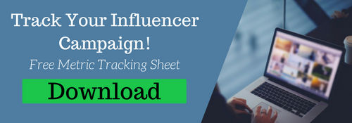 Download Influencer Campaign Tracking Sheet