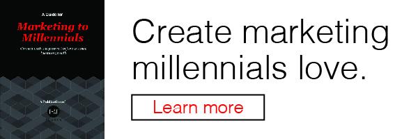 Marketing to Millennials ebook
