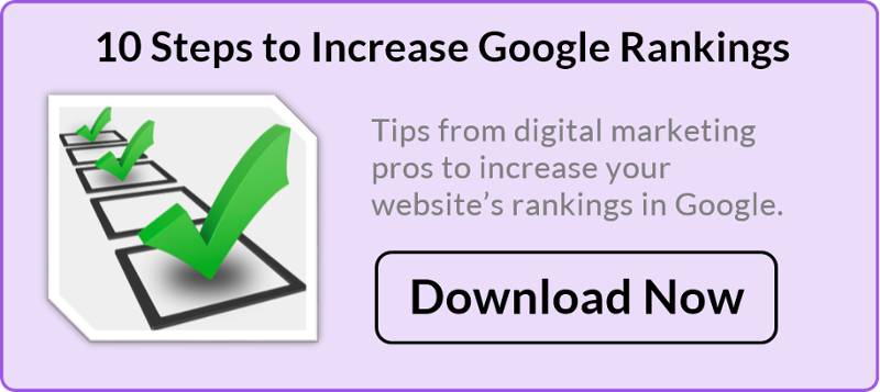 10 Steps to Increase Google Ranking