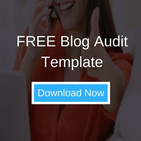 FREE Blog Audit Template Download | THAT Agency