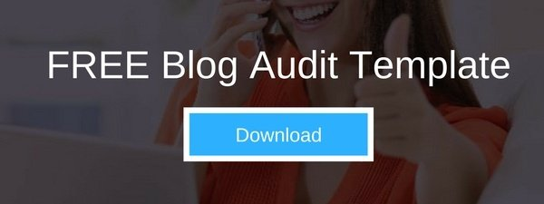Download FREE Blog Audit Template | THAT Agency