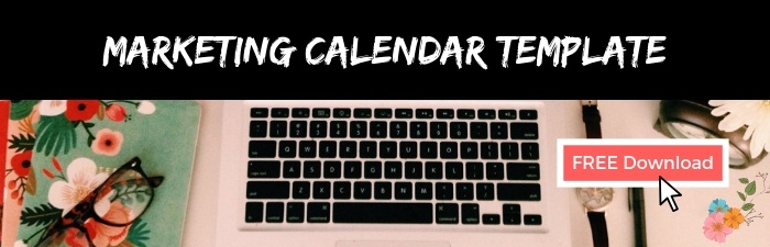2019 Marketing Calendar Template | Free Download | Microsoft Excel Workbook | THAT Agency