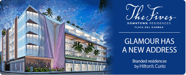 The Fives Downtown Residences - Glamour has a new address - Branded residences by Hilton's Curio