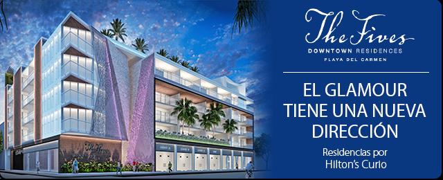 The Fives Downtown Residences - El Glamour tiene una nueva dirección - Residenciases por Hilton's Curio