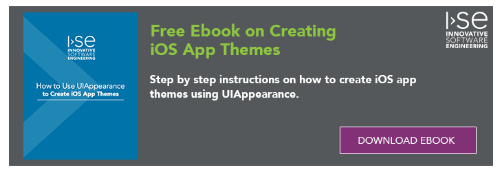 Download the Ebook on Creating iOS App Themes using UIAppearance