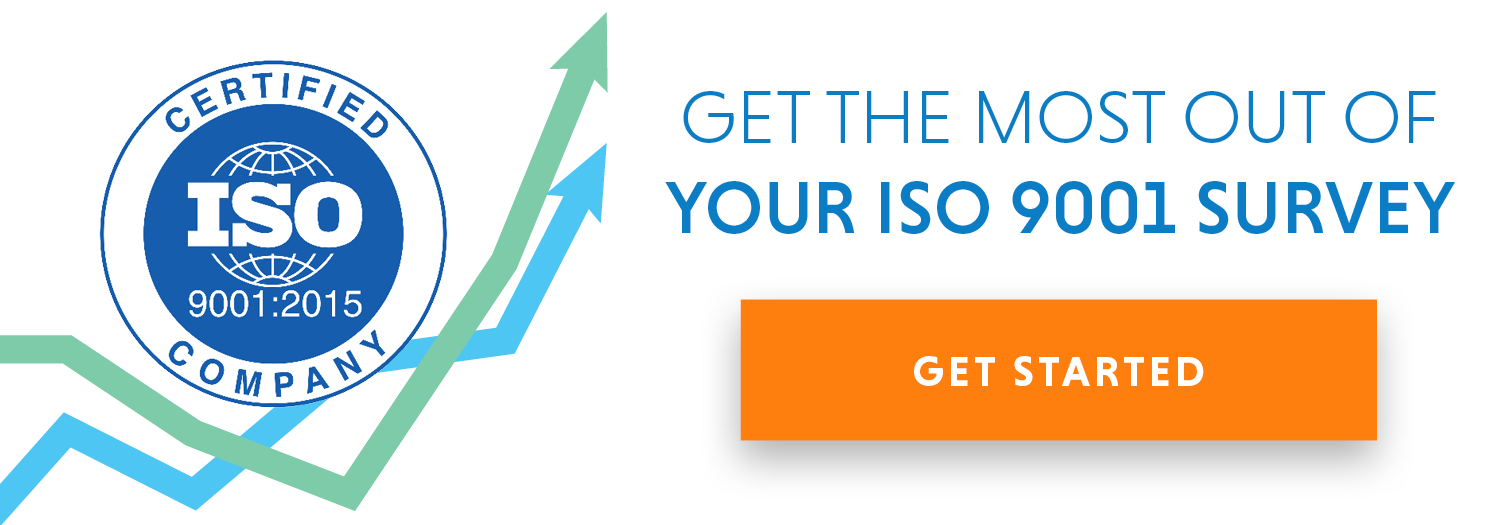 Get the most out of your ISO 9001 survey.