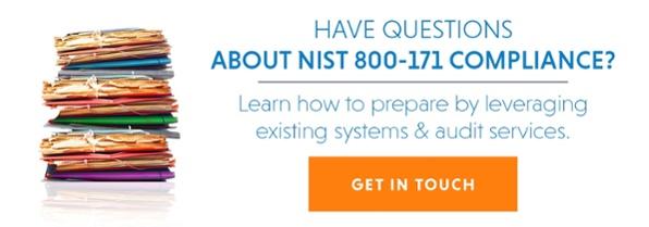 NIST 800-171 Higher Education