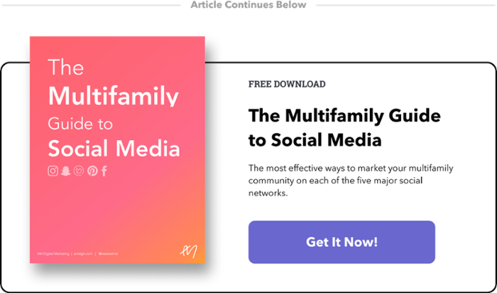 ➜ Download The Multifamily Guide to Social Media (it's FREE!)