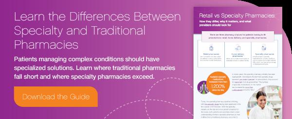 Specialty Vs. Traditional Pharmacies