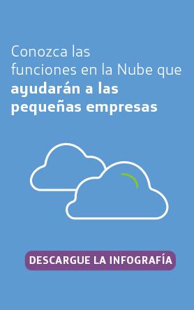 Cinco funciones en la nube para pequeñas empresas