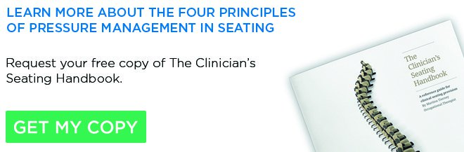 Free copy of The Clinician's Seating Handbook Seating Matters