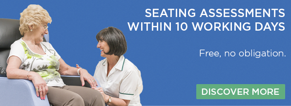 Book a free, no obligation Seating Assessment today