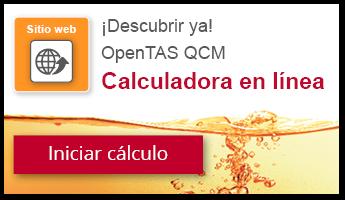 OpenTAS QCM calculadora en linea