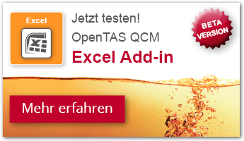 OpenTAS Excel Add-in