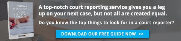 Download Our Free Court Reporting Guide!