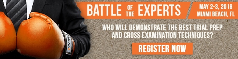 Register for Battle of the Experts Today!