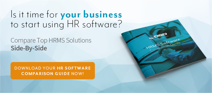 HRMS Software Comparison Guide | DSD Business Solutions