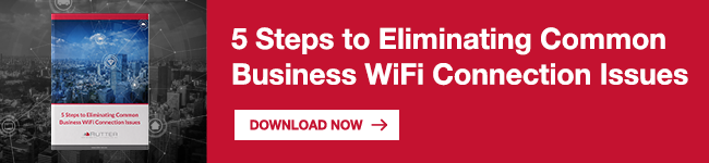 5 Steps to Eliminating Common Business WiFi Connection Issues