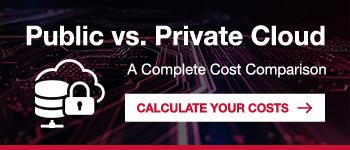 Private vs. Public Cloud Costs
