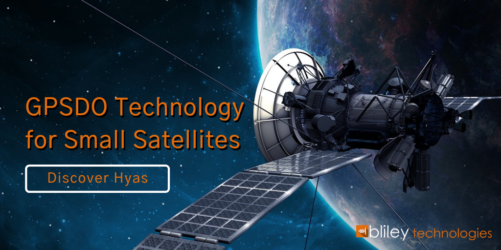 GPSDO Technology for small satellites and LEO satellites