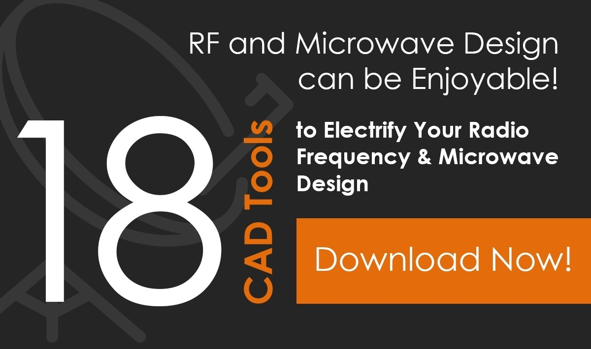 CAD tools for RF and Microwave Design