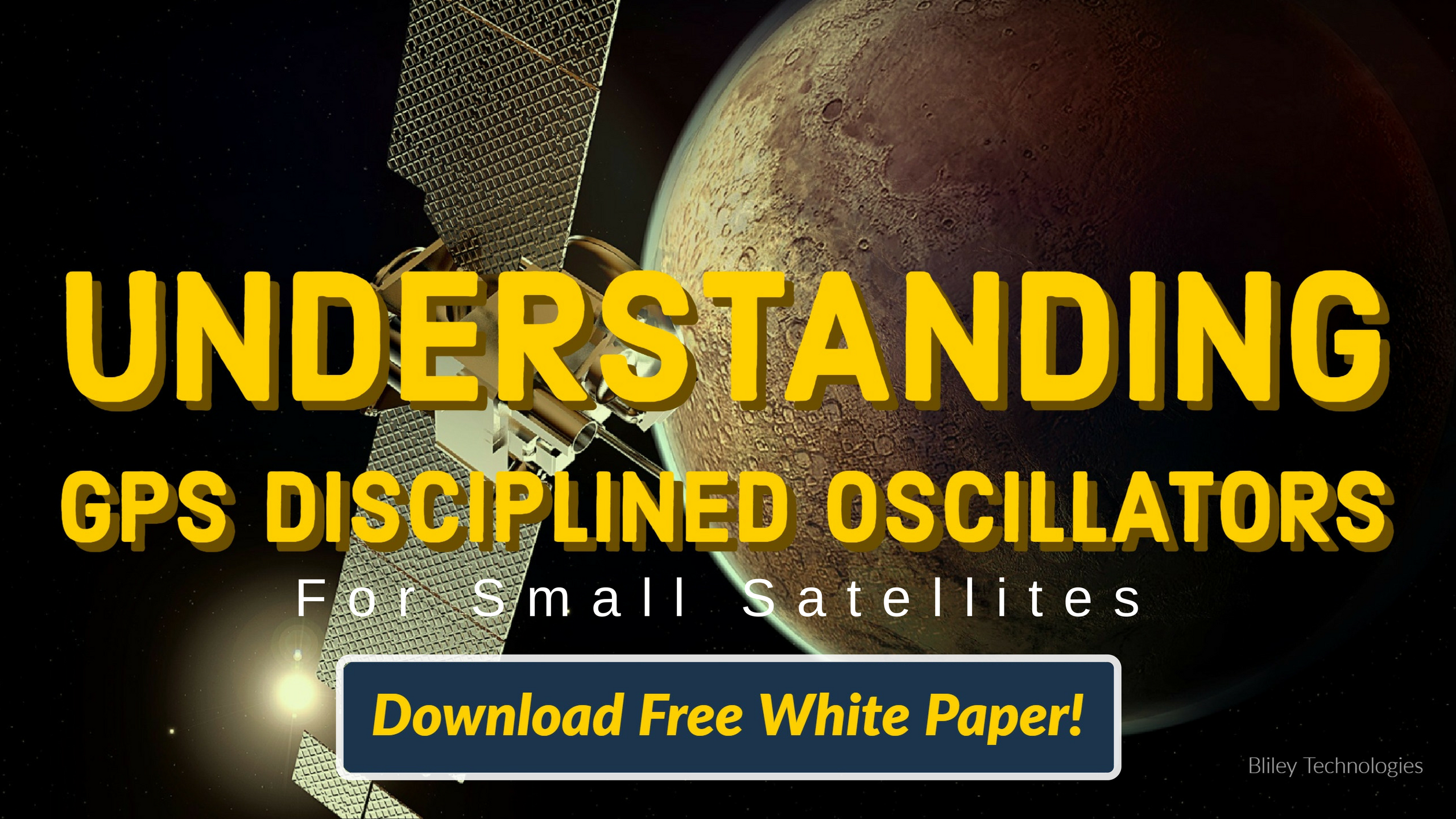Bliley Technologies GPS Disciplined Oscillator White Paper Download