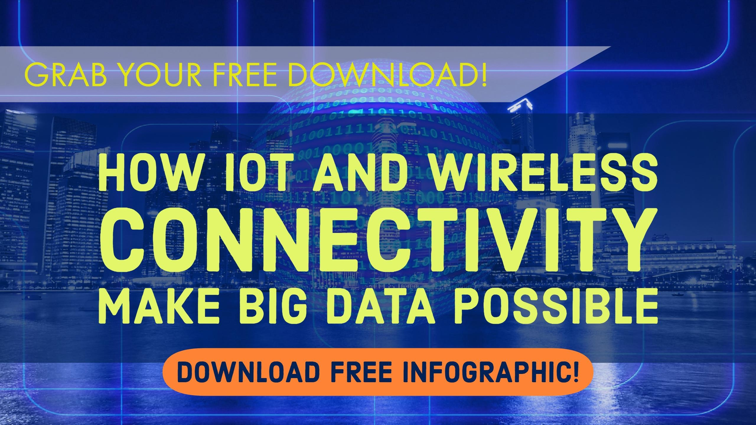 Download The Internet of Things and Wireless Connectivity Make Big Data Possible