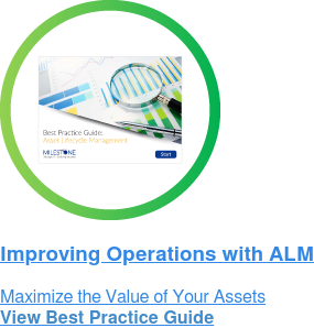 Improving Operations with ALM Maximize the Value of Your Assets View Best Practice Guide