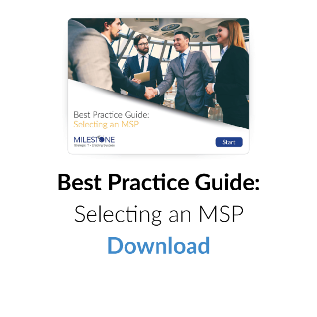 Download Best Practice Guide: Selecting an MSP