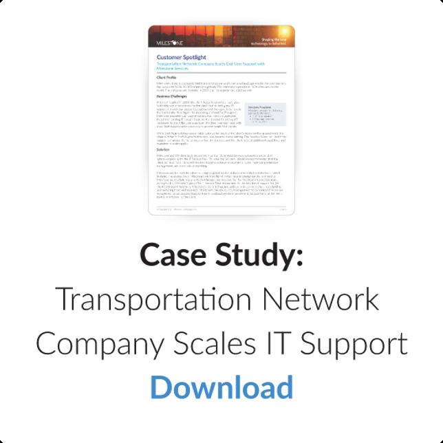 Download Case Study: IT Service Management