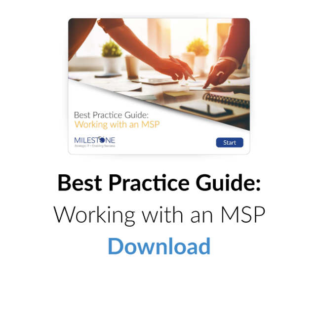 Download Best Practice Guide: Working with an MSP