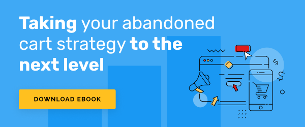 Free Download from Remarkety: Cart Abandonment Ebook