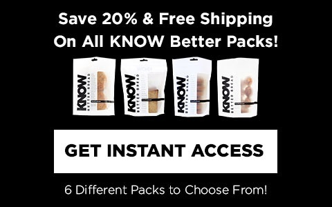Get 20% off KNOW Better Starter Pack & FREE Shipping!