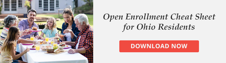 Open Enrollment Cheat Sheet Ohio Residents
