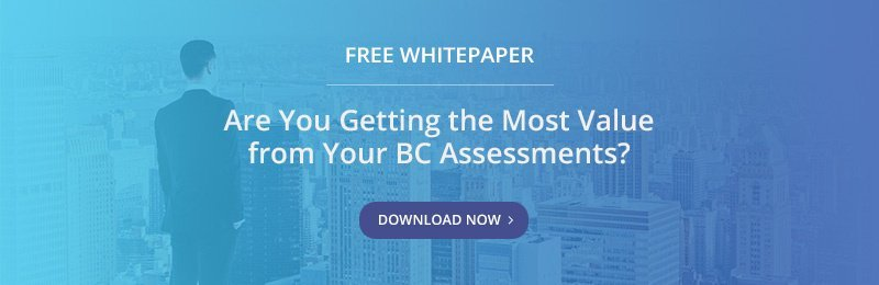 Free Whitepaper - Are You Getting the Most Value from Your BC Assessments?