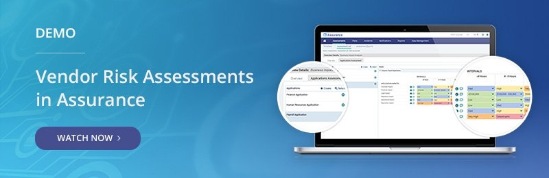 Demo - Vendor Risk Assessments in Assurance