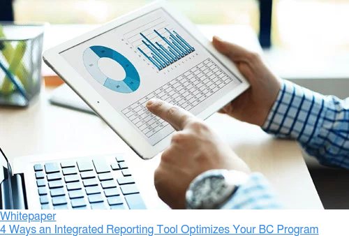 Whitepaper  4 Ways an Integrated Reporting Tool Optimizes Your BC Program