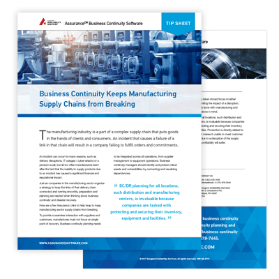 Manufacturing Industry Whitepaper