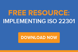 Free Guide - Implementing ISO - 22301