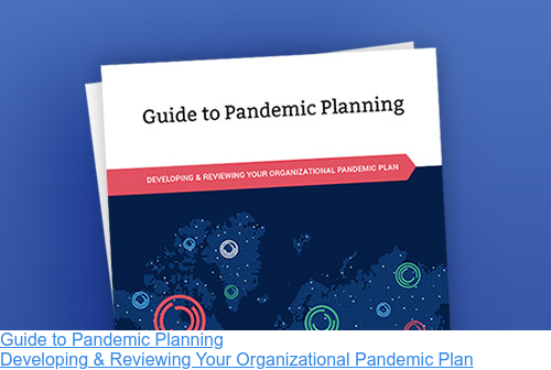 Guide to Pandemic Planning  Developing & Reviewing Your Organizational Pandemic Plan
