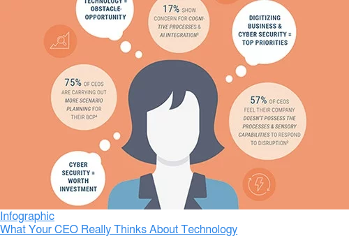 Infographic  What Your CEO Really Thinks About Technology