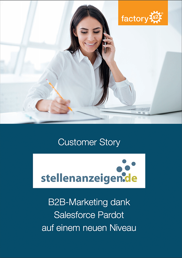 Customer Success stellenanzeigen.de factory42