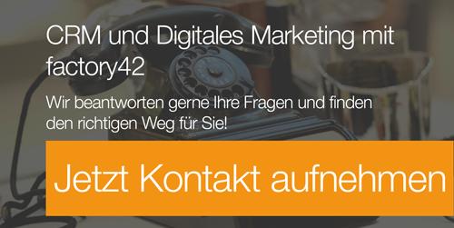 CRM und Digitales Marketing - mehr erfahren!