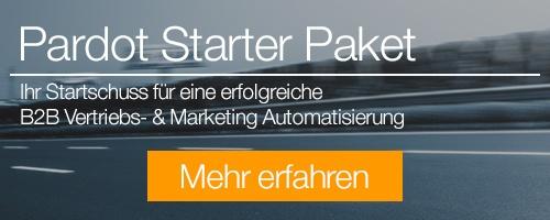 Salesforce Pardot Starter Paket - mehr erfahren!