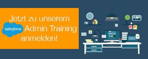 CTA Anmeldung zum Salesforce Admin Training