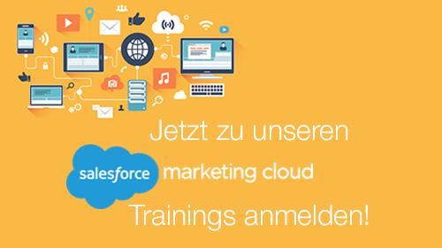 Salesforce Marketing Cloud Training - jetzt anmelden