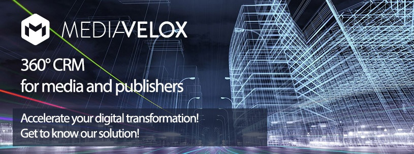 MediaVelox 360° CRM for media and publishers