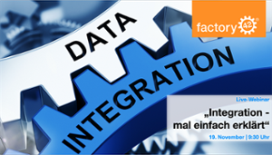 Aktuelles Webinar Data Integration einfach erklärt | Wissen