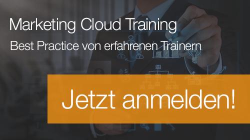 Marketing Cloud Training anmelden
